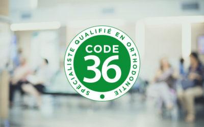 Qu'est-ce que le code 36 ?