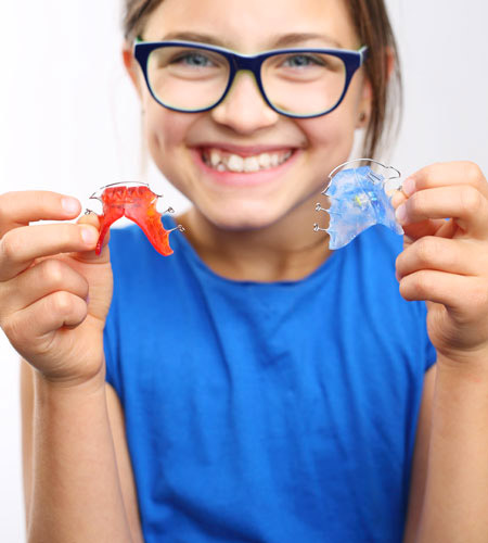 Orthodontie chez les jeunes patients. Traitements d'interception.